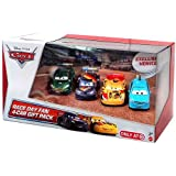 Disney / Pixar CARS Movie Exclusive 1:55 Die Cast Cars Race Day Fan 4-Pack #3 [Alloy Hemberger, Max Schnell, Nigel Gearsley & Miguel Camino]
