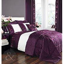 housse couette prune. Black Bedroom Furniture Sets. Home Design Ideas