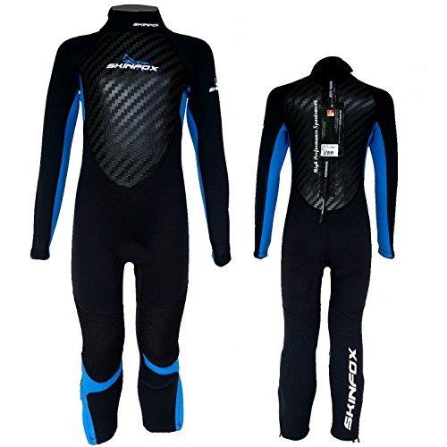 Skinfox Scout Kinder Full Suit Junior Schwimmanzug Strandanzug UPF 50+ UV-Schutz Neoprenanzug Gr.2