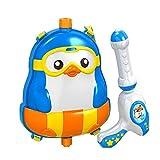 PANDA SUPERSTORE L'eau en plastique de sac à dos joue le jouet heureux d'été de jeux de Squirt de jouets pour la plage de piscine,#A