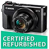 (CERTIFIED REFURBISHED) Canon PowerShot G7 X Mark II