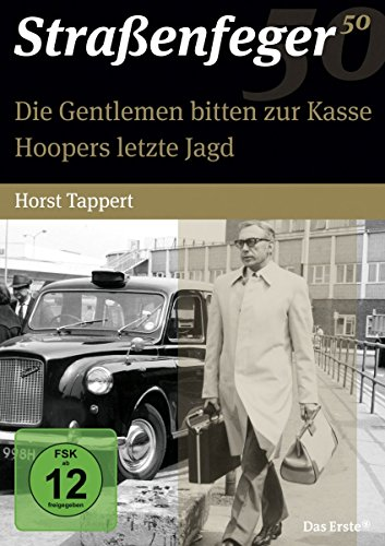 Straßenfeger 50 - Die Gentlemen bitten zur Kasse / Hoopers letzte Jagd [4 DVDs] (Neuauflage) (Film Die Jagd)