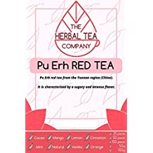 Triphala Pu Erh Red Tea Blend Tea Bags Organic with Cinnamon Flavour 25 Pack