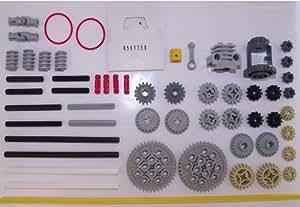 LEGO Technique - set des pignons, axes et pièces de moteur avec 56 pièces