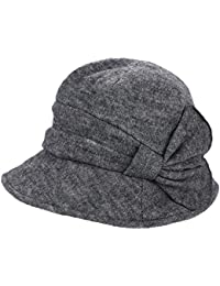 Elegante Boina de Invierno Lana de Punto Sombrero de Pesca Gorra Plana  Cazadora de Invierno cálido 3ed5a14081e