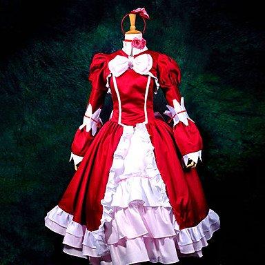 Black Butler elizabeth cosplay,Maßgeschneiderte(mailen uns Ihre Größe),Größe S: Höhe 155cm-160cm (Elizabeth Black Butler Kostüm)