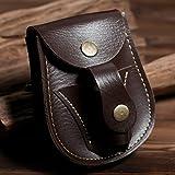 2017nueva funda de piel bolso de la bolsa de la cintura para munición catapulta tirachinas bolas de acero juegos