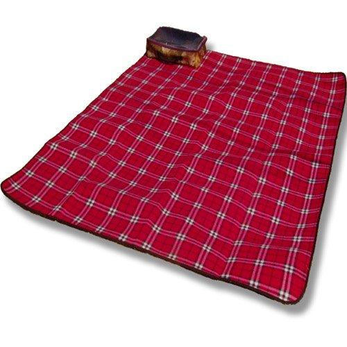 tapis de pique-nique Suede package portable (200 * 150 * 0.5cm)