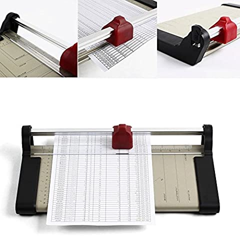Femor Foto- & Papier Roll- und Schnitt Schneidemaschine Schneidegerät DIN A4/A3 Cutter(A4)