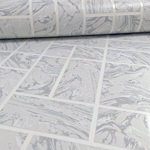 holden-decor-marble-tile-muster-kunstleder-effekt-kuche-badezimmer-vinyl-tapete-grey-89251