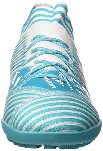 adidas Nemeziz Messi Tango 17.3 TF, Chaussures de Football Homme Blanc (Footwear White/Legend Ink/Energy Blue)