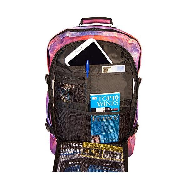 dfec81c01f ... CasualCabin Max Metz Zainetto bagaglio a mano/da cabina, 44 litri,  dimensioni approvate 55x40x20 cm su voli IATA (galassia). 🔍. Valigeria ...