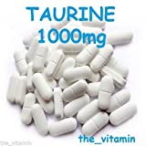 The Vitamin Taurine 1000mg 60 Tablets FREE POSTAGE by The Vitamin