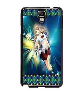 PrintDhaba Fantasy Girl D-5662 Back Case Cover for SAMSUNG GALAXY NOTE 3 NEO (Multi-Coloured)
