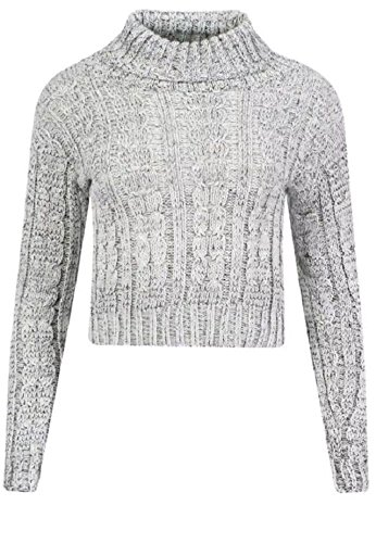 Fashion - Pull - Femme Small Gris