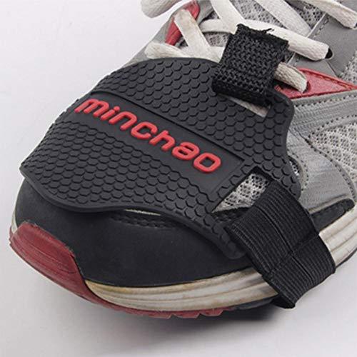 Tappetino Cambio Moto, Copriscarpe Moto, Copriscarpe in Silicone Appeso, Protezione Scarponi, Copriscarpe, Accessori Cambio Moto S