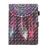 inShang iPad Hülle Schutzhülle für iPad iPad air 2/iPad 6, PU Leder, Ständer Etui Tasche Smart Case Cover für ipad iPad air 2 mit Automatische Einschlaf/Aufwach