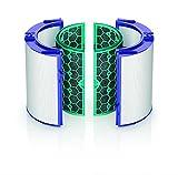 Dyson Pure Cool Turm-Luftreiniger (mit 2 HEPA-Filtern und 2 Aktivkohlefilter, inkl. Fernbedienung und App-Steuerung, Ventilator und Luftreinigungsgerät mit Geruchs- und Schadstofffilter) - 2