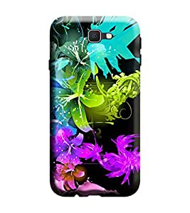 Samsung Galaxy A3-6 (2016 Edition) Back Cover designer 3D Hard Mobile Case printed Cover for Samsung a3 2016 edition by Gismo - Art Flower Theme
