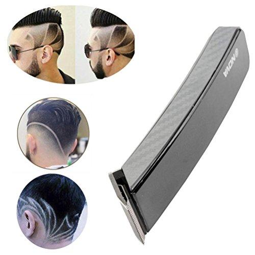 Herren Haarscherer Sansee NOVA New Professional Herren Elektrorasierer Bart Haarschneider Grooming (Schwarz) (Nova Clipper Hair)