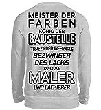 Meister der Farben - Maler und Lackierer - Malerin - Lackiererin - Tapezierer - Geschenk - Unisex Pullover