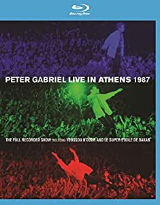 Peter Gabriel: Live in Athens 1987 + Play [(+DVD)]
