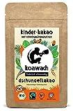 koawach Dschungelkakao Trinkschokolade für Kinder - Bio
