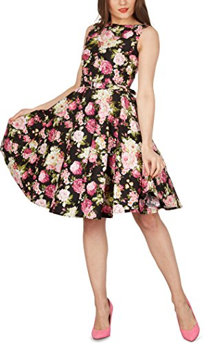 Black Butterfly 'Audrey' Vintage Divinity Kleid im 50er-Jahre-Stil - 5