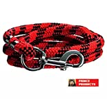 #10: PRINCE PRODUCTS ROPE RED & BLACK 15MM