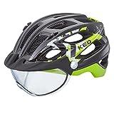 KED Covis Helmet Black Green Kopfumfang 55-61 cm 2017 mountainbike helm downhill