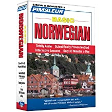 Pimsleur Norwegian Basic Course - Level 1 Lessons 1-10 CD: Learn to Speak and Understand Norwegian with Pimsleur Language Programs (Simon & Schuster's Pimsleur)