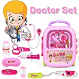 #5: FunBlast Doctor Kit Toys for Kids, Doctor Set Toys with Light and Sound (Pink)