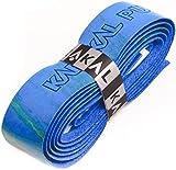 Karakal PU Supergrip replacement racquet grip - tennis / badminton / squash - Various Single Colours (multi-blue/green, 1 Grip)