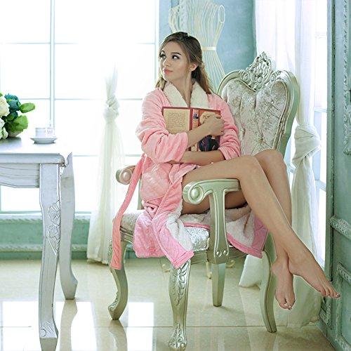 Female Bademantel erwachsen Robe Kleidung Kostüm Kleid, (Kostüm Schwarzen Kleinkind Robe)