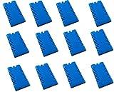 12 Stück Kühlakkus Kühlelemente ( 12h Akkus ) iceblocks freeze packs für Kühltasche Kühlbox , iapyx® -