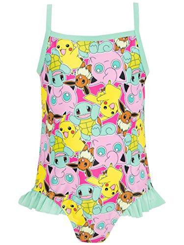 Pokemon Mädchen Pokemon Badeanzug (Kostüme Kinder Pokemon)