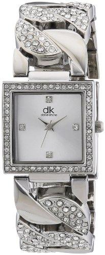 dk daniel khone Damen-Armbanduhr Woman Analog Quarz Alloy DKLA-90261-44M