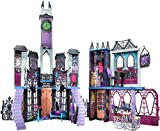 MONSTER HIGH CJF48 Mega Monsterschule incl. 2 Monster High Puppen