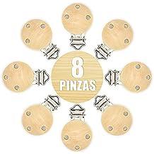 RUBY- 8 pcs Pinza clip para Chupete Envio desde España
