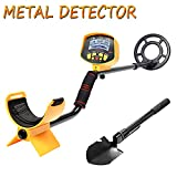 SHUOGOU Metal Detector MD9020C Professional High Sensitivity Waterproof Underground Metal Detector Jewelry Hunting Treasure Search LCD Display