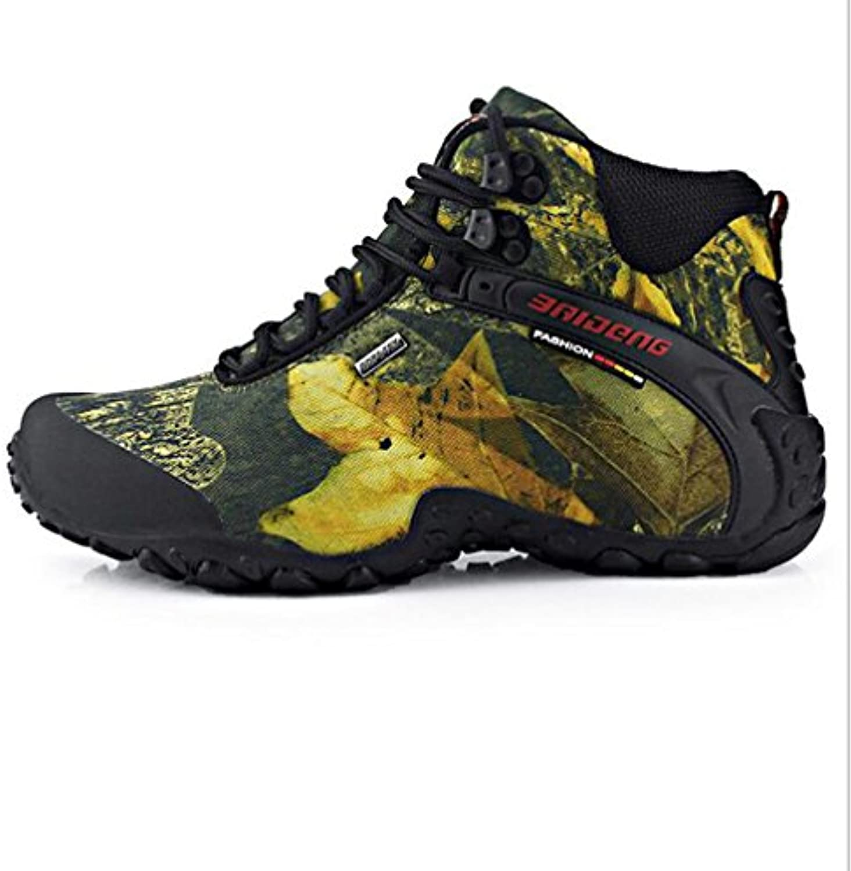 KANGLE Zapatos de Senderismo para Hombre, Impermeables, Talla Grande, 45 Unidades  -
