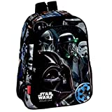 Montichelvo Star Wars Rogue One Mochila Infantil, 36 cm, Negro
