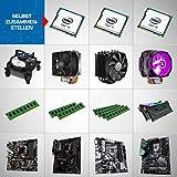 Kiebel Intel Upgrade Kit, Intel Core i7 9700K (8x3.6 GHz), bis 64GB DDR4-3000, bis 2000GB SS,  Aufrüst Set Konfigurator [184842]