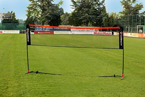 Carrington® Badmintonnetz/Volleyballnetz 3m - Mobil - Inkl. Tragetasche - extrem Leichter Aufbau - WETTERFEST - Höhenverstellbar