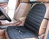 Zento Deals 12V Beheizte Auto Sitzkissen Premium Qualität Einstellbare Temperatur Heizung Pad Schmerzmittel