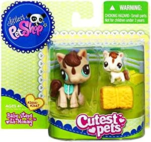 Petshop duo littlest petshop cutest pets 2666 maman cheval - Cheval petshop ...