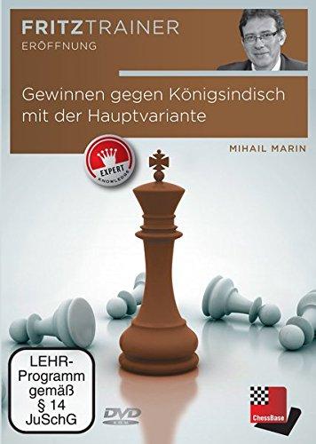 Gewinnen gegen Königs-Indisch mit der Hauptvariante, DVD-ROMInteraktives Schach-Videotraining. 253 Min.