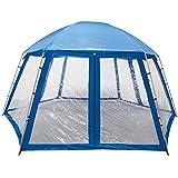Steinbach 36425 - El techo, piscina de mega para piscinas elevadas, azul, 600 x 520 x 280 cm