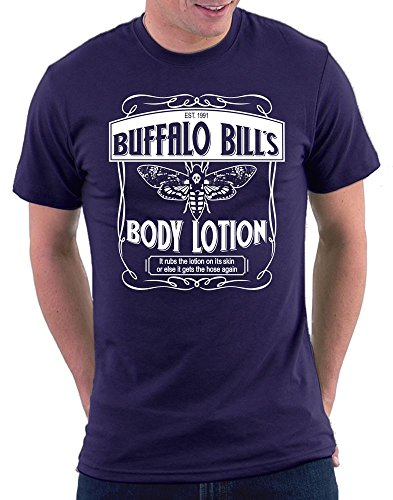 Das Schweigen der Lämmer Buffalo BILLS Body Lotion T-shirt Navy