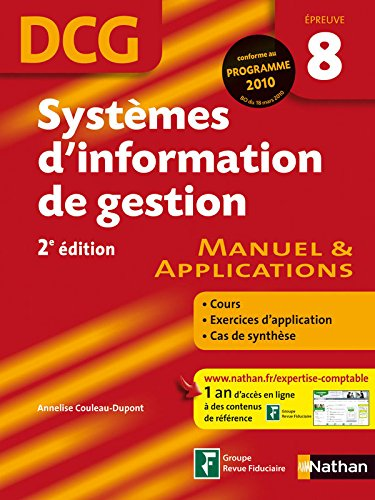 SYSTEMES INFORM GEST EP8 DCG